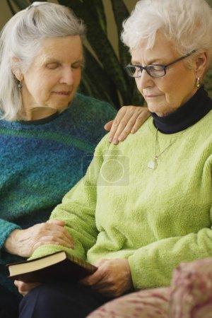 Two Women In Prayer