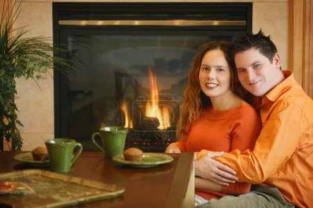 Couple Relaxing In Their Home