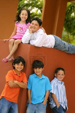 Group Shot Of Children