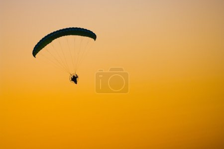 Powered Parachute Or Paraglider