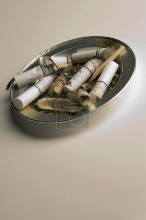 Full Ashtray Receptacle