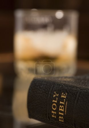 Close-Up Of Holy Bible