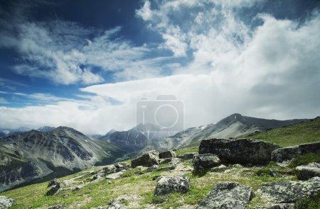 Photo pour Scène des montagnes Rocheuses - image libre de droit