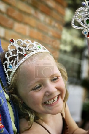 Girl In A Tiara