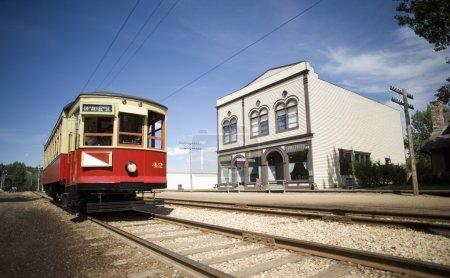 Old-Fashioned Streetcar
