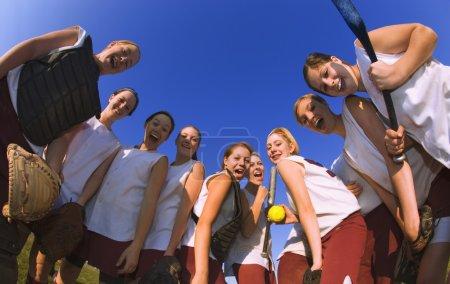 Girls Baseball Team