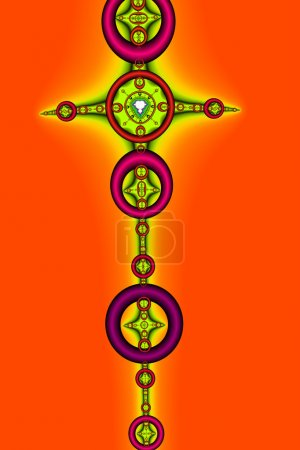 Photo for Brightly Colored Abstract Design - Royalty Free Image