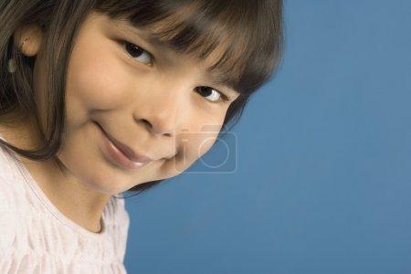 Photo pour Jeune première fille des nations - image libre de droit
