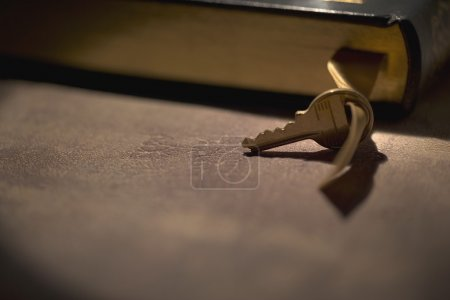 Key With A Book