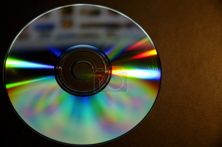 Closeup Of A Cd