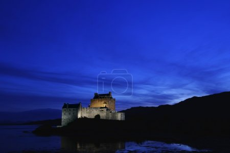 Eilean Donan Castle At Night