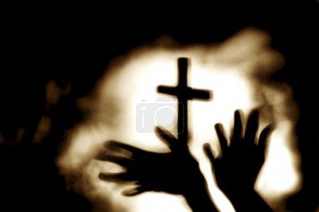 Hands And Cross
