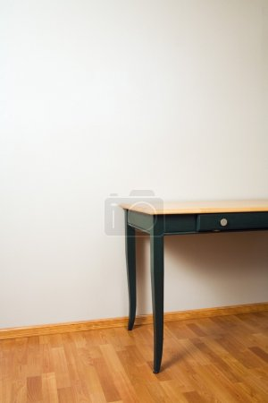 Table On Hardwood Floor