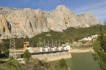 Hydro Electric Station In Spain