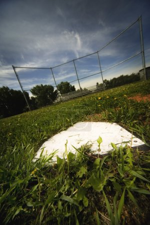 Photo pour Terrain de baseball vide - image libre de droit