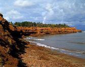 Shoreline In Prince Edward Island, Canada