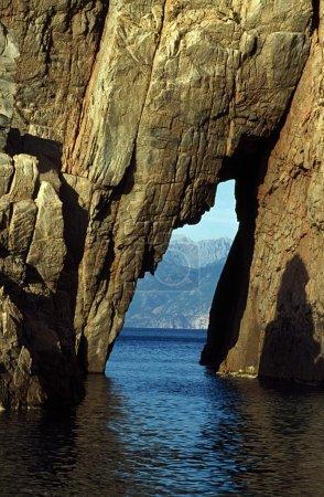 Stone Arch On The Mediterranean