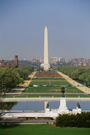 National Mall Washington Monument In Washington, Dc, Usa