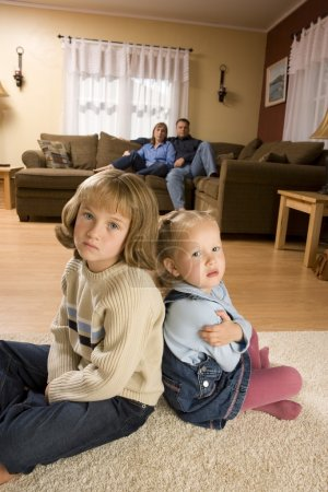 Children At Home With Parents