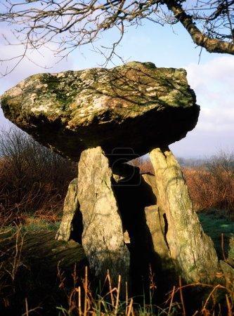 Gaulstown Dolmen, Tramore, County Waterford, Ireland
