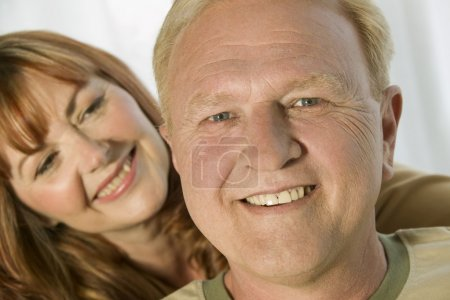 Photo pour Portrait de couple - image libre de droit