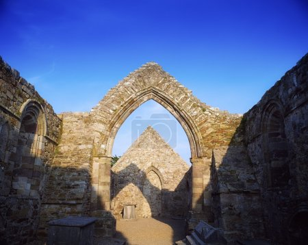 Ancient Abbey, Ardmore, Co Waterford, 12Th Century, Ireland