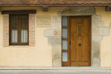 Photo pour Maison Cantabrique, Rioseco, Espagne du Nord - image libre de droit