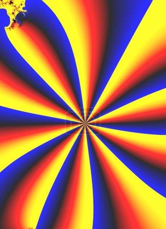 Photo for Pinwheel Abstract - Royalty Free Image