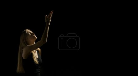 Woman With One Arm Up