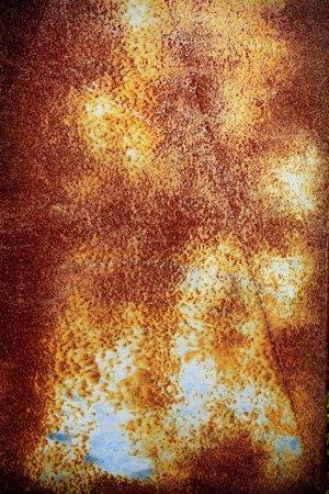 Photo pour Gros plan de métal rouillé - image libre de droit