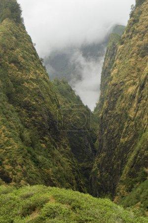 Mountains Near Iao Needle, Maui, Hawaii, Usa