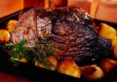 Roast Beef & Roast Potatoes...