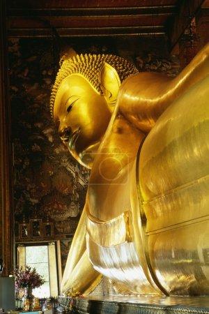 Reclining Buddha At Wat Po, Bangkok, Thailand