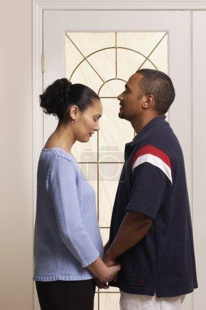 Photo pour Couple prier ensemble - image libre de droit