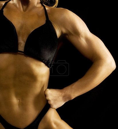 Photo for Female Bodybuilder - Royalty Free Image