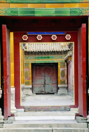 Doorways, Forbidden City, Beijing, China