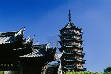 Photo pour Pagode du Temple Nord, Chine - image libre de droit