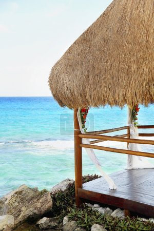 Cancun, Mayan Riviera, Mexico, Beach Hut