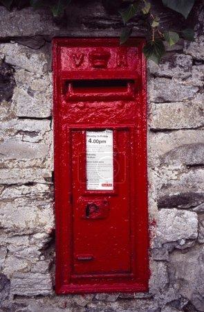 Queen Victoria Post Box, Dore, Sheffield, England