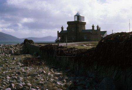 Lighthouse On Blacksod Bay, County Mayo, Ireland