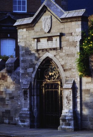 Dublin, Entrance Gates To Marsh's Library, Ireland