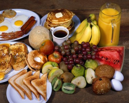 Photo for Breakfast Foods - Royalty Free Image