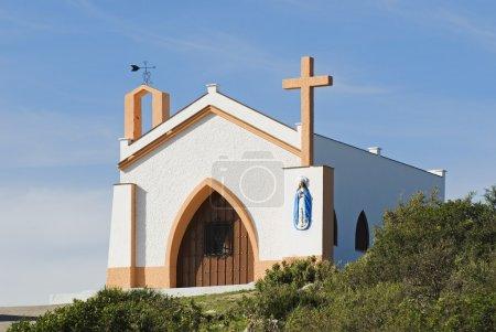 Photo pour Ermitage De La Conception Pur Et Propre Dans La Sierra Del TablXon, Espagne - image libre de droit