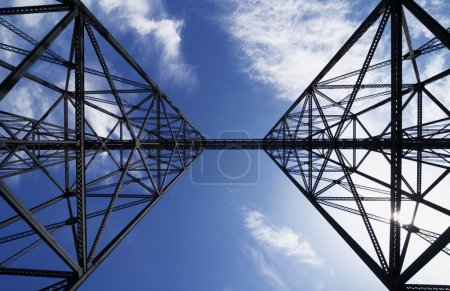 Photo for Metal Structure - Royalty Free Image