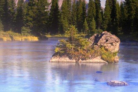 Scenic Mountain River