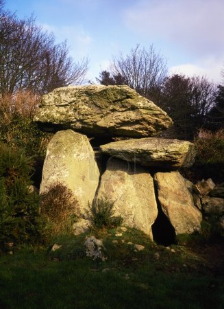 Knockeen Dolmen, Tramore, Co Waterford, Ireland