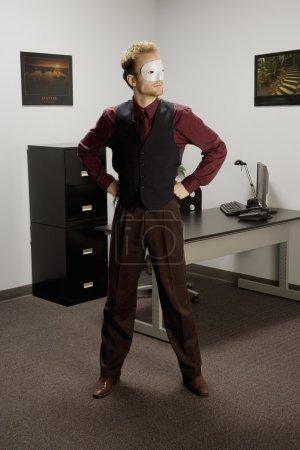 Photo pour Super homme d'affaires - image libre de droit