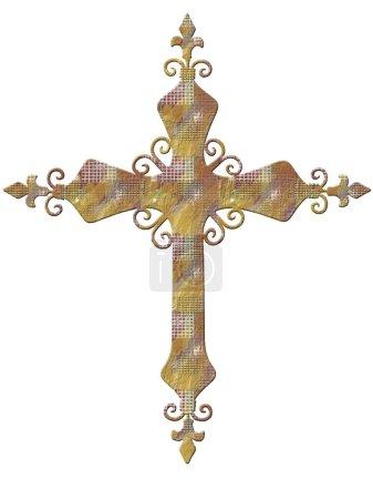 Photo pour Signe de croix - image libre de droit