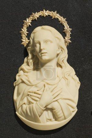 Religious Icons In Spanish Cemetery