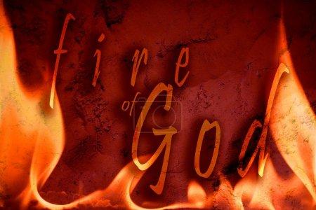 Illustration Of Fire Of God